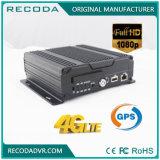 FHD 1080P Car Mobile DVR Suporte Ahd Tvi Cvi com 4G e GPS