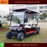カスタマイズされた4 Seaterの電気ゴルフカート(承認されるセリウム)