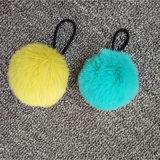 米国の方法Monbileの靴のための吊り下げ式の小さい毛皮の球Poms