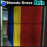 30mm Synthetisch Gras voor Landschap met de Dubbele Steun van het Niveau