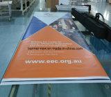 La double publicité latérale extérieure de haute résolution de drapeau de PVC d'impression (SS-VB110)