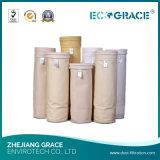 Dépoussiérage Industriel High-Strength sacs filtrants en fibre de verre en Téflon PTFE