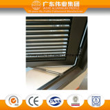 Obturador de la ventana del marco de la alta calidad/ventana de aluminio de la lumbrera