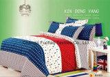 Gemaakt in China 100% Reeks van het Beddegoed van de Polyester de Microfiber Afgedrukte die voor Huis wordt gebruikt