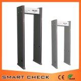 Detector de seguridad de 6 zonas a través de la puerta del detector de metales