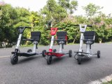 Scooter électrique de tricycle pliable transformable, scooter de mobilité de mode, scooter de bagage, scooter électrique de mobilité de ville