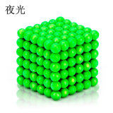Brinquedos 5mm magnéticos coloridos das crianças das esferas da fábrica