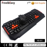 Ratón y teclado sin hilos de los claves 2.4G de Stardand 104