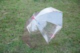 Parapluie transparent remplaçable des prix de parapluie avec l'impression de logo pour extérieur