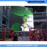 경량 옥외 풀 컬러 임대 발광 다이오드 표시 스크린 (640mm*640mm pH6/pH8)의 높은 광도