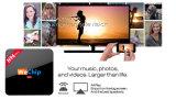 Modèle neuf ! ! ! De S912 TV de cadre PRO Kodi Octa cadre 17.0 intelligent androïde du faisceau 4k 2g 16g de Wechip H96