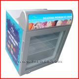 Congelador do indicador do gelado