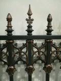 Het hete Poeder van de Verkoop bedekte Staal dat Met platte kop met een laag Hoge Decoratief, Ornamenten, Gegalvaniseerd Staal schermt