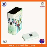 Heißes verkaufendes rechteckiges Tee-Zinn, Zinn-Kasten-Hersteller, Tee-Zinn-Kasten