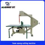 Mousse ou une éponge Machine de coupe verticale