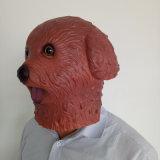 Máscara de la pista del animal de partido, máscara de la pista de caballo del látex, máscara divertida de Víspera de Todos los Santos