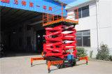 Scissor hydraulische elektrische 10m Mann-Aufzug-Plattform (SJY0.5-9)