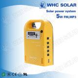 Faro solar 5W kits completos fuera de la red Juego de la energía solar