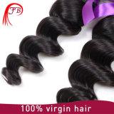 Trama floja 100% del pelo humano de la onda del pelo brasileño de la Virgen
