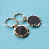 OEM-цинк сплав круглые кольца для ключей для продвижения по службе (Ele-K101)