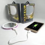LED-bilden grelles Ring-Licht Spiegel mit Energien-Bank