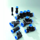 De plastic Pneumatische Duwende Lucht verbindt Montage (av-Pu-1001)
