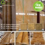 Natürlicher goldener Emperador-Marmorierungmarmor für Bodenbelag-/Fußboden-/Wand-Dekor-Fliese