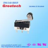 0.1A 48VDC Subminiature Micro- die Schakelaar in Muis en Elektrische Nietmachine wordt gebruikt