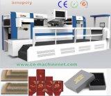 Fabricante chino automática Foil Sello y troqueladora