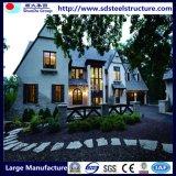 Casas residenciais Prefab de quadro de aço do calibre leve