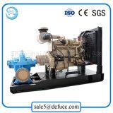 Waterworks를 위한 수평한 균열 케이스 디젤 엔진 원심 펌프