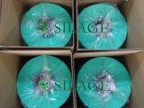 Cualificado Multi-Capa de soplado del color verde de la película del abrigo del ensilaje