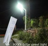 Indicatore luminoso esterno 5W-120W tutto in un indicatore luminoso solare solare del giardino dell'indicatore luminoso di via con alta luminosità