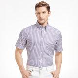 Visita de encargo 100% hombres del algodón / ocasional camisa / vestido