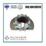 Peças Drilling de trituração de giro fazendo à máquina da máquina do aço de carbono do CNC da precisão