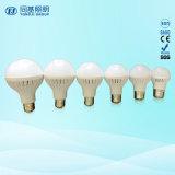 Ampoule compacte de l'éclairage 5W Plastic+Aluminum de la Chaud-Vente DEL