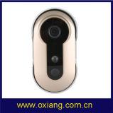 La sonnette de WiFi d'IP de Smartphone de support d'appareil-photo de sonnette avec la carte d'IDENTIFICATION RF déverrouillent la fonction
