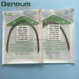 Collegare elastico eccellente dentale dell'arco di Niti di ortognatodonzia di Denrum