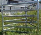 Панель Corral лошади рельса Австралии/Новой Зеландии 70*40mm овальная/стальная панель скотин