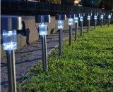 Colorer la lumière solaire changeante de jardin de DEL, lumière de mur