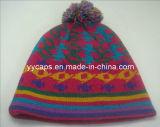 아크릴 뜨개질을 한 모자 (YYCM-120352)