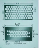 Rundes Holes Perforated Metal Mesh Factory für Many Uses