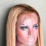 Upscale Ombre Dark Roots 27 Straight Full Lace Wig