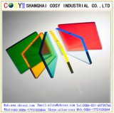 Hoja transparente de /Acrylic de la hoja del molde PMMA del color para hacer publicidad
