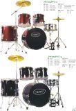 """5PCS 22 """"ポリ塩化ビニールのドラムキット、ドラムは置く(JW225PVC-3、JW225PVC-4)"""