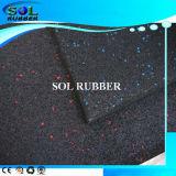 Высокая гибкость удобные Slip-Resistance спортзал пол резиновые плитки