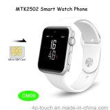 Bluetooth reloj teléfono inteligente con Mtk2502 Desarrollado Nuevo Sistema (DM09)