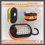 Funciones dobles 27 LED del trabajo de Ronda magnética con gancho de colgar Integral