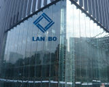 gafa de seguridad de cristal endurecida del edificio de cristal del vidrio Tempered de 19m m