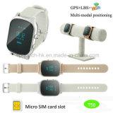 Le GPS+LB+Smart WiFi GPS tracker montre téléphone pour les personnes âgées/adultes T58